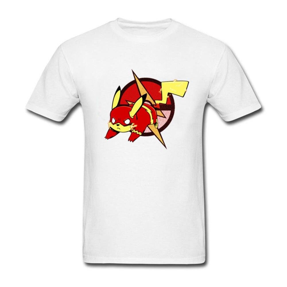 Design shirts and sell online - Xxxl T Shirts Mens Pikaflash Men Shirt Men S Custom Short Sleeve Profession Team Tee Shirts Online