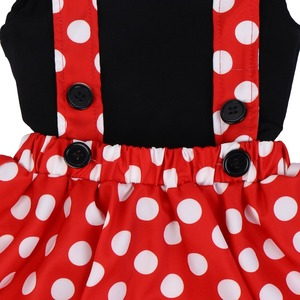Image 4 - Cute Baby Girl Clothes Set Minnie Dress Cake Smash Outfit Girl Baby Birthday Clothes Suspender Girls Clothes for Photo Shoot