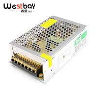 Westbay High Quality 24V Power Supply Transformer 110V 260V to 24V LED Driver 150W Power Adapter Aluminum Adapter Switching