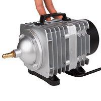 NCFAQUA 6 Outlet Electrical Magnetic Air Pump Commercial Air Compressor for Aquarium Fish Tank Fountain Pond Hydroponics 82L/min