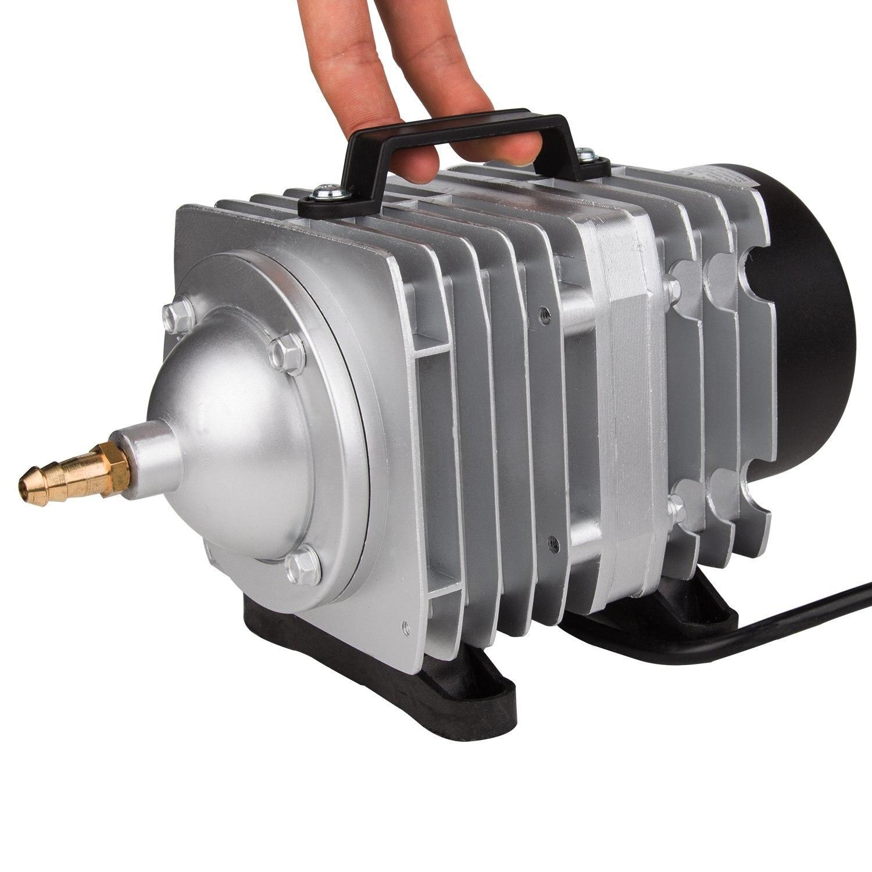NCFAQUA 6 sortie électrique magnétique pompe à Air compresseur d'air Commercial pour Aquarium réservoir de poissons fontaine étang hydroponique 82L/min