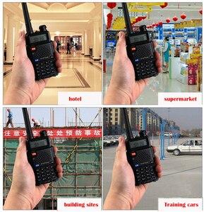 Image 5 - NEWEST Original Baofeng UV 5R HF transceiver UV 5R Bao Feng for UV5R Radio Portable UHF VHF Dual Band Dual Display WalkieTalkie