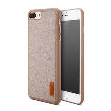 BASEUS художественный PP + ткань ультра тонкий складной чехол телефона Корпус для iPhone 7 свет лоб