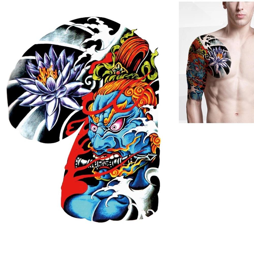 Popular custom sleeve tattoos buy cheap custom sleeve for Custom tattoo stickers