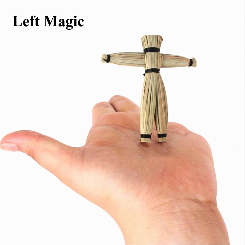 Straw Voodoo Doll Magic tricks Doll Props mentalism,close up magic stage Accessories comedy amazing toys April Fool's Day E3068 image