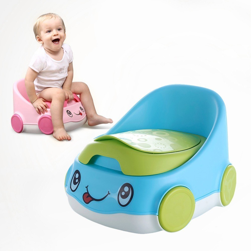 Baby Toilet Cars Shape Portable Baby Potty Potty Training Children's Potty WC Baby Accessories Girls Boy Child Toilet Seat image
