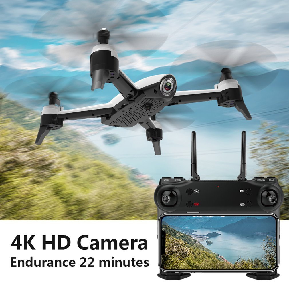 Image 2 - SG106 4K RC Drone Optische Stroom 1080P 720P HD Dual Camera Real Time Antenne Video RC Quadcopter Aircraft Helicopter Drone-in Camera Drones from Consumer Electronics