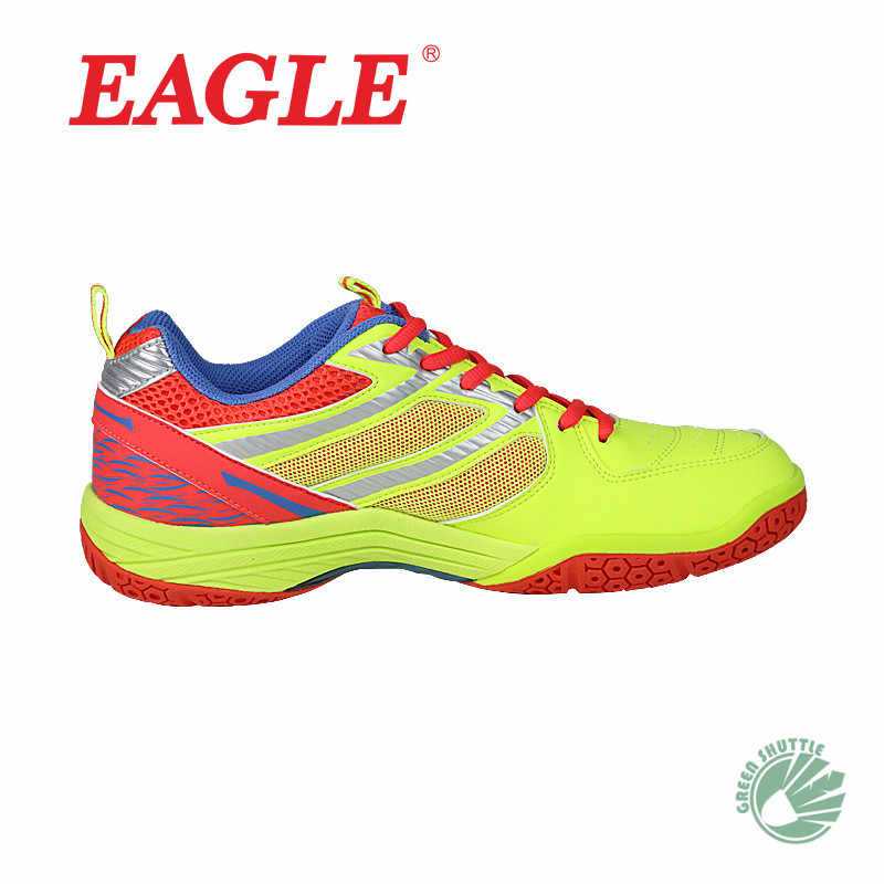2019 New Genuine EAGLE High Breathable Mesh Badminton Shoes For Men And Women 3650 3655  Sport Sneakers