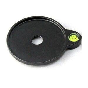Image 2 - FITTEST 50mm 60mm haute précision trépied niveau Sprit niveau supplémentaire décalage bulle nivellement plaque pour trépied rotule Sirui Benro