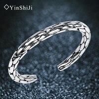Pure Silver Silver Female Soccer Silver Bracelet Lovers Custom Handmade Silver Bracelet Retro Twist Birthday