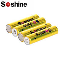 Soshine 1.5V 1200mAh AAA FR03 Lithium li-ion AAA Primary Batteries Battery for camera,radio,toy etc.Good quality,10-year shelf l