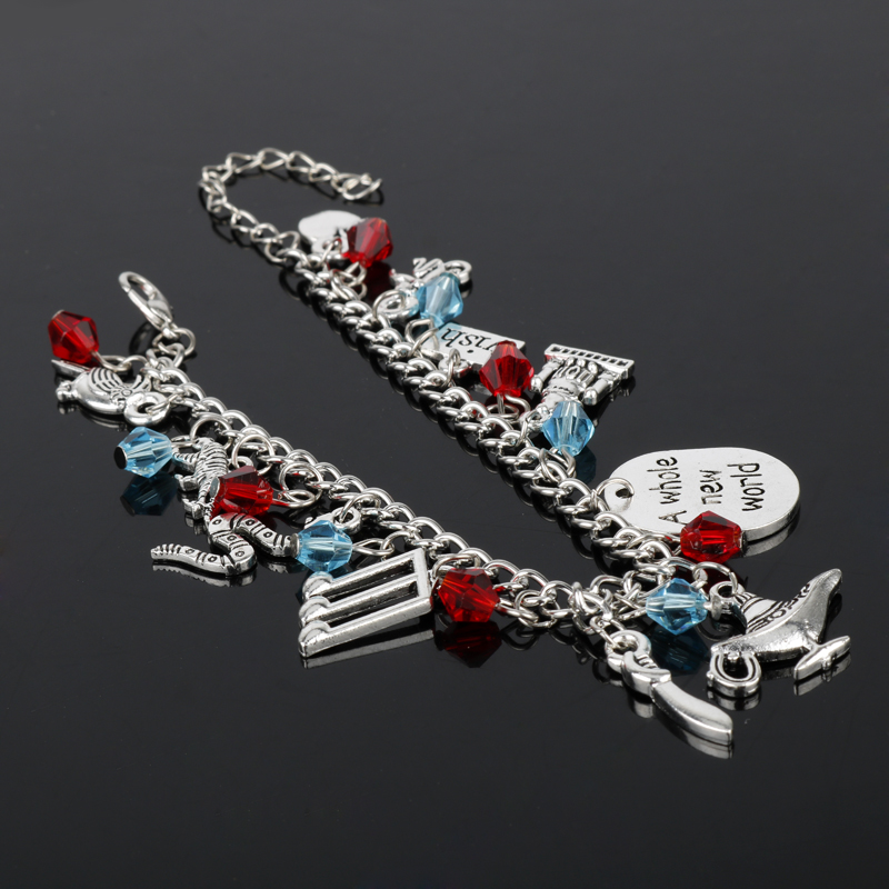 Aladdin Charm Bracelets & Bangles Letter A Whole New World Animals - Bisutería - foto 3