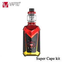 Original Vaptio Super Cape vape Kit E-cigarette Kits Tank Capacity 8.0 ml/2.0 ml 1.3inch HD color TFT screen and cool UI