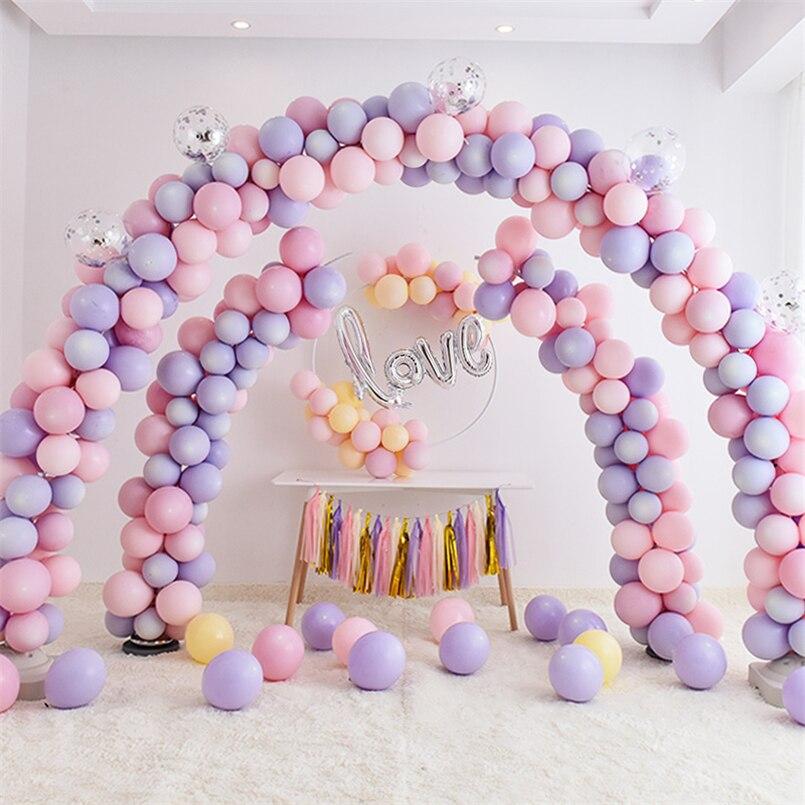 Ballon colonne Stand Kits Globos arc de mariage support Base mariage décoration anniversaire ballons accessoires fête fournitures