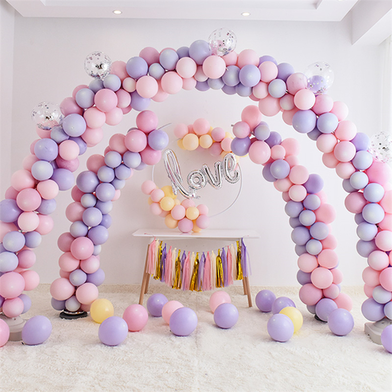 Balloon Column Stand Kits Globos Wedding Arch Stand Frame Base Wedding Decoration Birthday Balloons Accessories Party Supplies