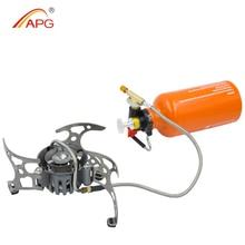 Apg ガソリンストーブ油ポータブル屋外キャンプストーブピクニックガス炊飯器