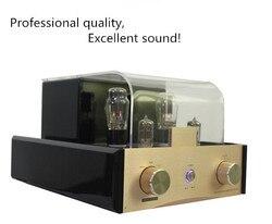 Najnowsze najwyższej jakości 2.0CH Hifi wzmacniacz lampy elektronowej stereo wzmacniacz rurowy bardzo silny wzmacniacz lampowy 38x2W
