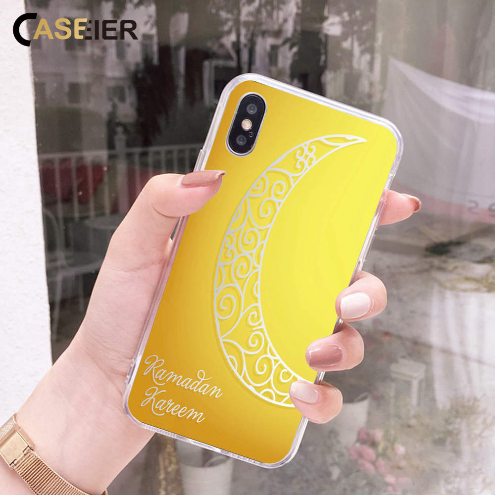 Phone Bags & Cases Caseier Ramadan Kareem Phone Case For Iphone Xr 7 8 6 6s Plus Ramadan Moon Cases For Iphone X Xs Max 7 8 6 5 4 4s 5c Soft Fundas Strengthening Sinews And Bones Cellphones & Telecommunications