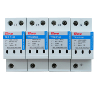 TOWE TPS B160 4P Three Phase Power Class B Imax 160kA 4 Modules 8 20 Up