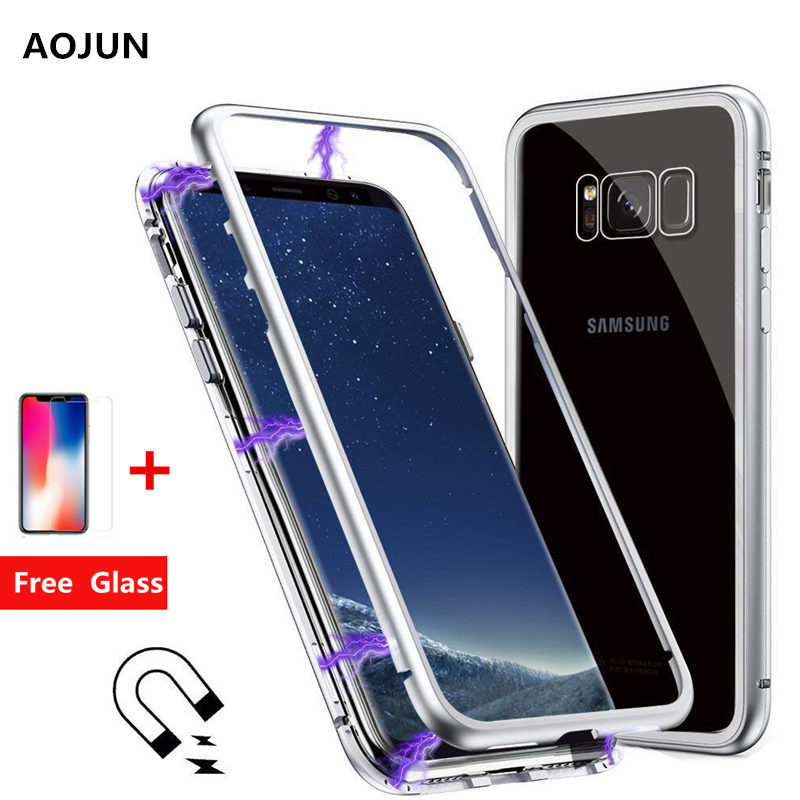 Magnetic Adsorption Phone Case For Samsung Galaxy Note 8 S8