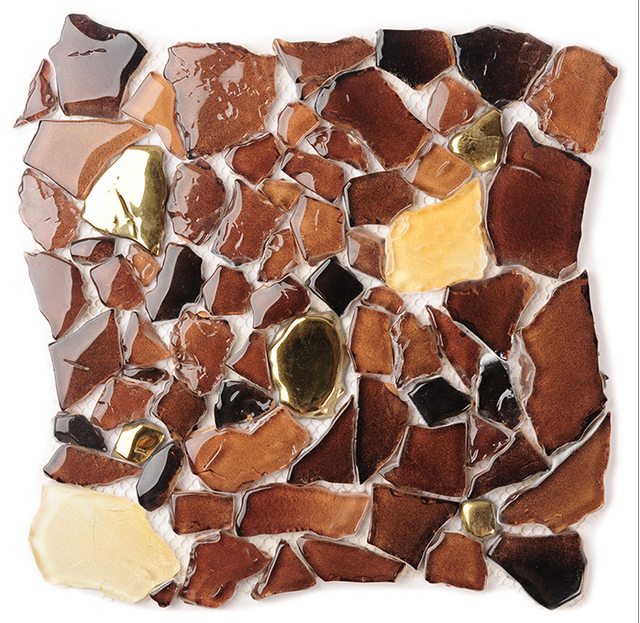 free style baroque design amber clear glass mosaic sticker bathroom shower kitchen cafe backsplash home decor