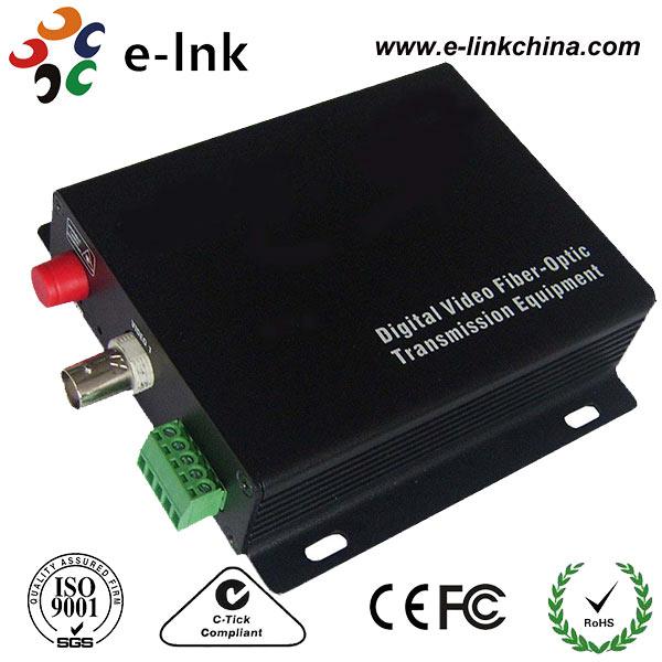 1Ch CCTV to fiber converter FC 20km1Ch CCTV to fiber converter FC 20km