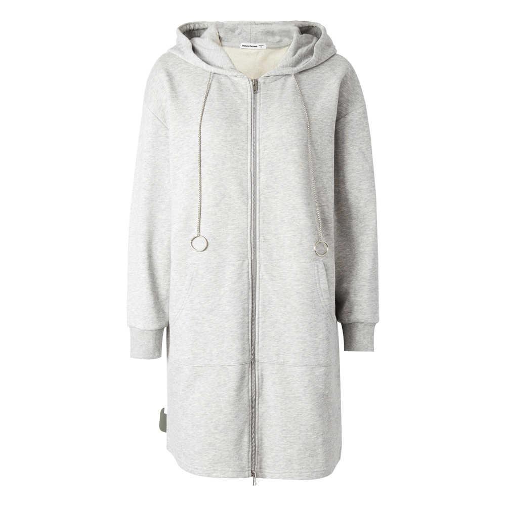 Metersbonwe брендовая Толстовка для похудения для женщин go с длинным и средним пальто для студентов Весна ins блейзеры