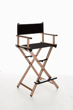 Makeup Artist Folding Director's Chair Aluminum Frame Light Weight Golden Color For Indoor/Outdoor Use Director Chair Foldable фото