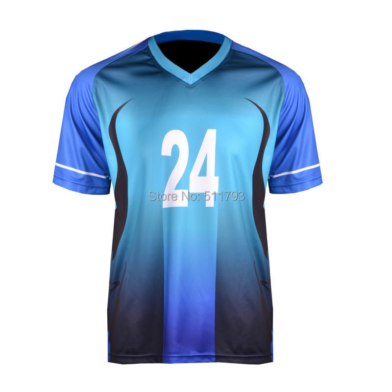 Wholesales football t shirts custom design sublimated in stock ...