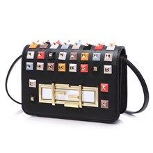 Reiwalker 2016 Sommer Herbst Fashion Mini Messenger Bag Kette handtasche der Frauen Kleine Umhängetasche Umhängetasche