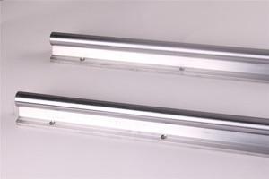 Image 2 - 2pcs SBR20 200 2000mm Linear Guide Rail SBR20 Linear Bearing Blocks for CNC parts 20mm Linear Rail