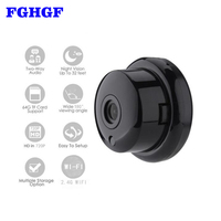 FGHGF 720P Wireless Mini Camera 2 4G Wifi Camera Support Mobile View Motion Detector And Alarm