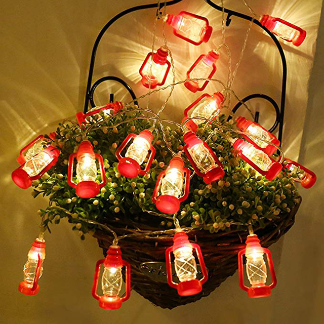 Xsky Vintage Led Water Oil Lamp String Lights 10leds 20leds Retro Style Christmas Fairy Garden