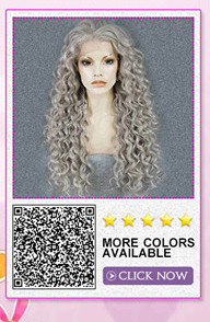 synthetic lace front wig 7