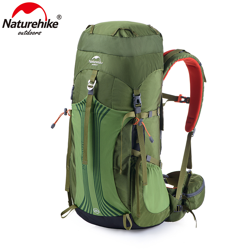 Naturehike Professional Hiking Climbing Bag Backpack With Suspension System Unisex Nylon Fabric 55L 65L 3 ColorsNaturehike Professional Hiking Climbing Bag Backpack With Suspension System Unisex Nylon Fabric 55L 65L 3 Colors
