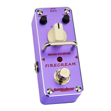 AROMA AFM-3 FIRECREAM Classical Vintage Guitar Distortion True Bypass Mini Analogue Effect Pedal
