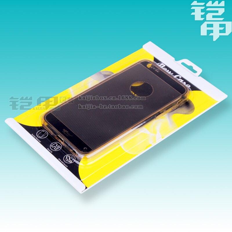 Новая мода блистерная ПВХ Пластик Розничная упаковка Коробки Вышивка Крестом Пакет для Samsung S4/<font><b>S5</b></font>/S6/S7 iPhone 6/6 + чехол для мобильного телефона 500 ш&#8230;