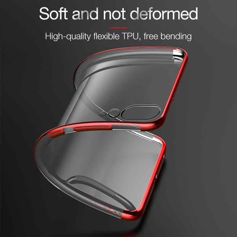 Покрытие чехол для Huawei Mate 10 20 Pro 9 Lite 20X Honor 8 Pro 9 10 Lite Примечание 10 V9 V10 тонкий, мягкий, из полиуретана крышка для Honor 9i 8X Max