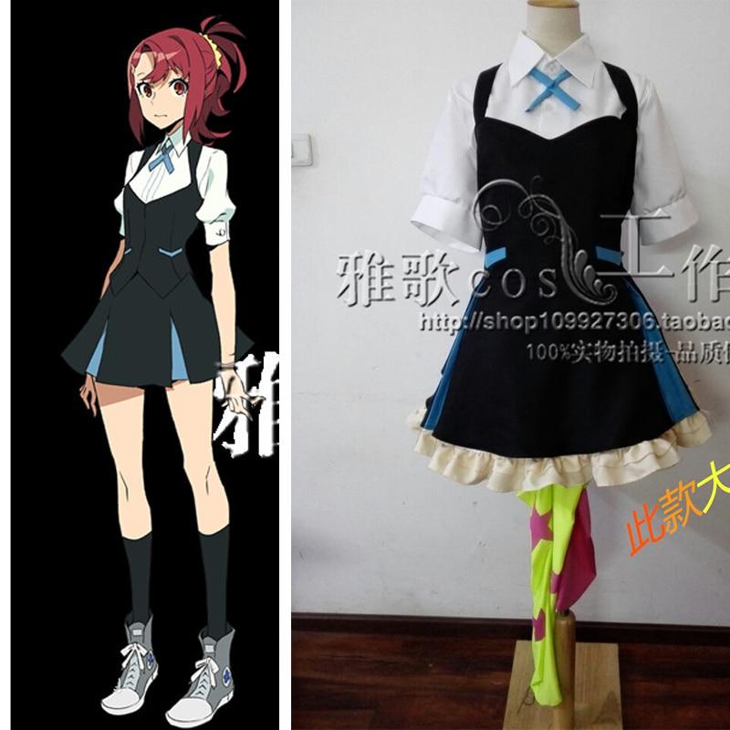Anime Kiznaiver Takashiro Chidori SONOZAKI NORIKO NIYAMA NICO MAKI HONOKA Cosplay Costume Uniform