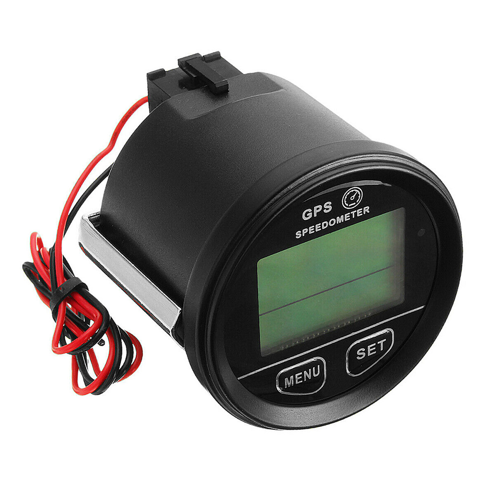 Multifunction LCD Display Motorcycle Car Boat Speed Measurement Speedometer Odometer Outdoor Counting Instrument Practical GPS