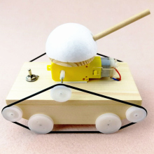 Science-Toy Wood Model-Kit Assembly-Tank Gifts Cool DIY Creative Kids Children's
