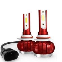 2Pcs Car Headlight H7 LED H4 H1 H11 HB4 9005 9006 9000LM 36W Super Bright Lights 6000K 12V Automobile Lamp Bulbs