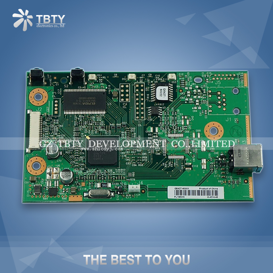 100% Guarantee Test Main Formatter Board For HP 1022 CB406-60001 Q5427-60001 <font><b>HP1022</b></font> Mainboard On Sale image