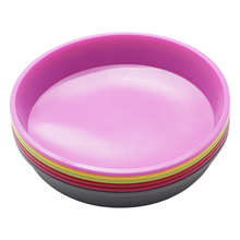 1Pcs Round Silicone Pizza Pan for Baking Wedding Cake Pizza Pie Bread Loaf for Microwave Oven