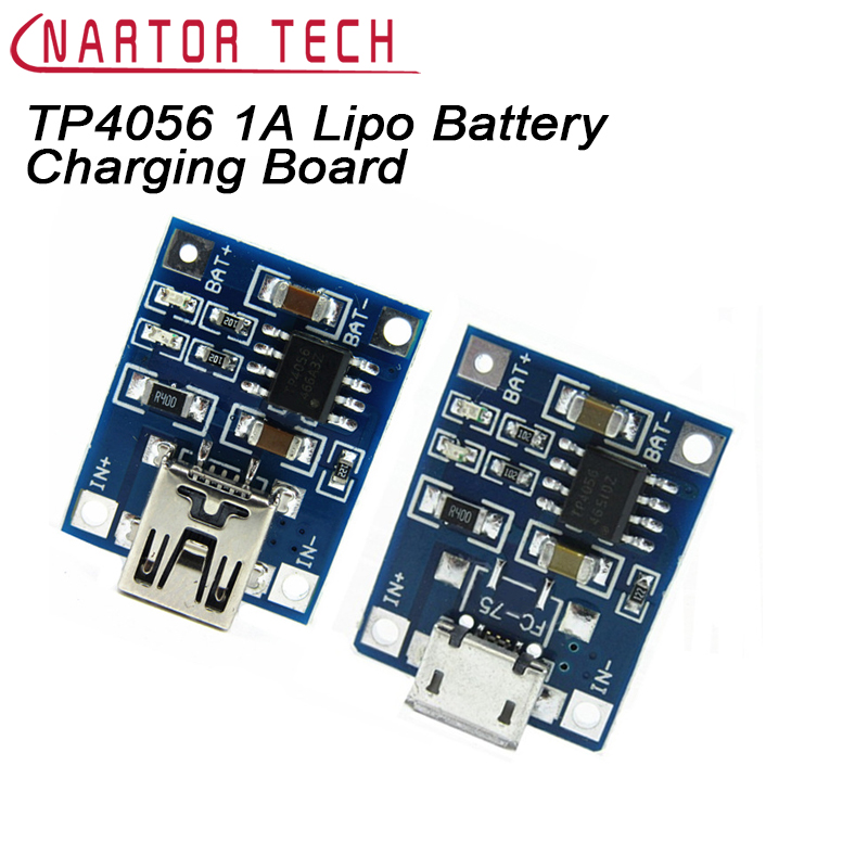 5PCS TP4056 1A Lipo Battery Charging Board Charger Module Lithium battery DIY Micro USB Port 4pcs micro usb 5v 1a 18650 tp4056 lithium battery charger module lipo charging board with dual functions automatic protection