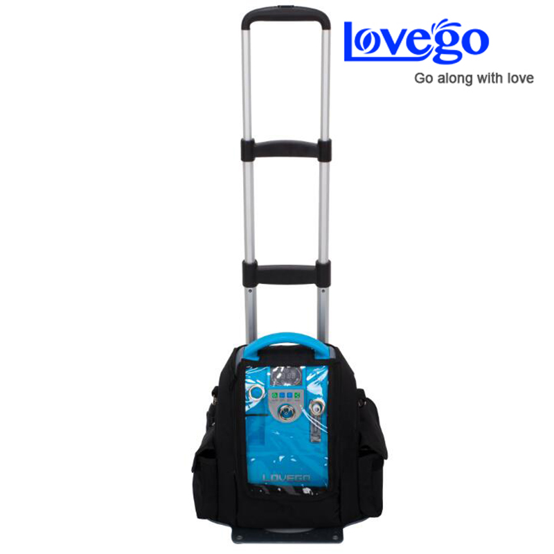 Lovego 5 liters continuous oxygen flow portable oxygen concentrator LG101