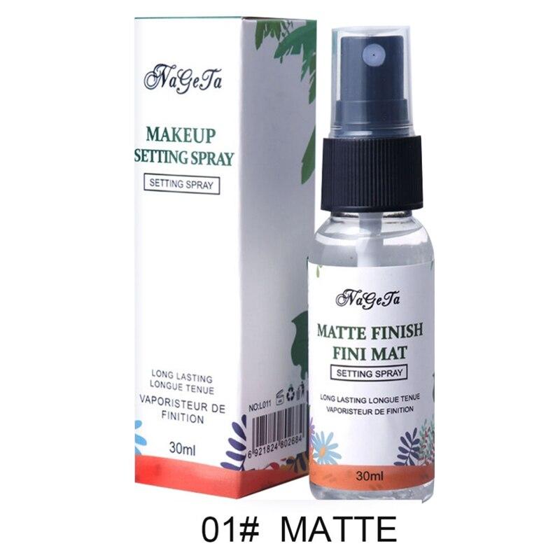 1pc Makeup Matte Fini Mat Liquid Setting Spray Moisturizing Oil Control Long Lasting Facial Spray Setting Spray maquiagem in Face Foundation from Beauty Health