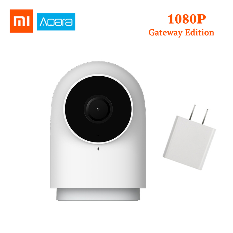 2019 Upgraded Xiaomi Aqara Smart Camera G2 1080P Gateway Edition Zigbee IP Camera Wifi Wireless Cloud Home Security monitoring image