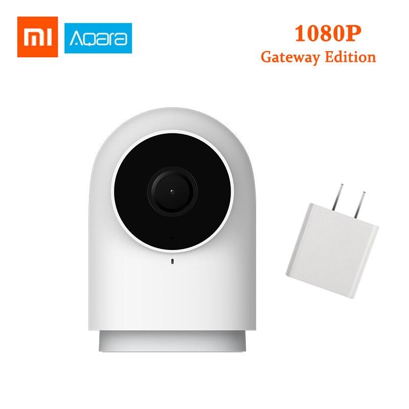 2019 atualizado xiaomi aqara câmera inteligente g2 1080 p gateway edição zigbee câmera ip wi fi sem fio em nuvem monitoramento de segurança em casa