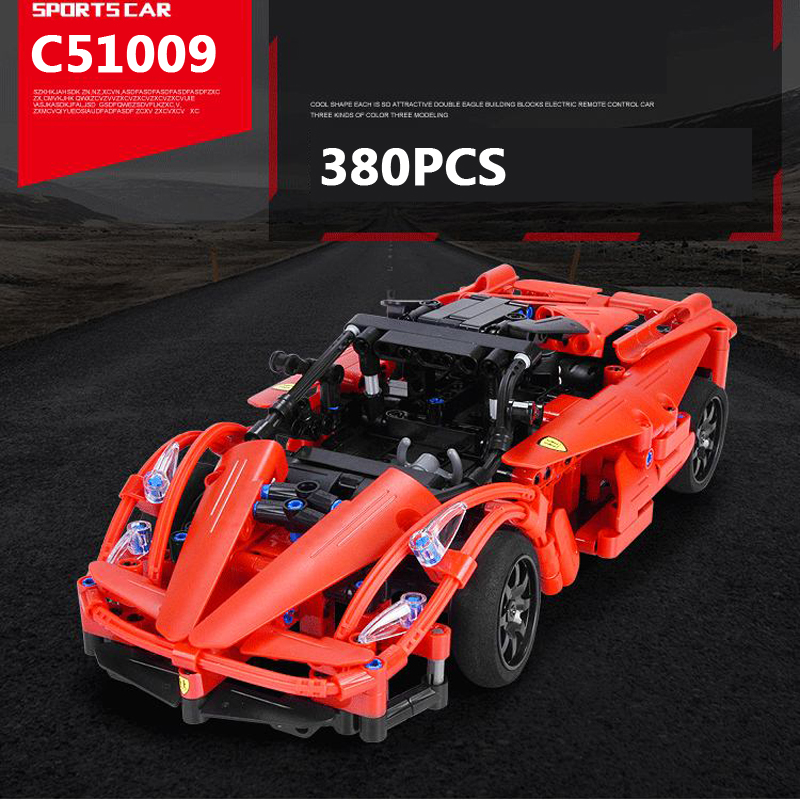 Hot radio remote control red Storm super sports car building block italy brand LaFerra assemblage model bricks rc toy collection italy gp brand dinofroz combact special form of cartoon classic monster toy dinosaur model collection absolutely can t miss it